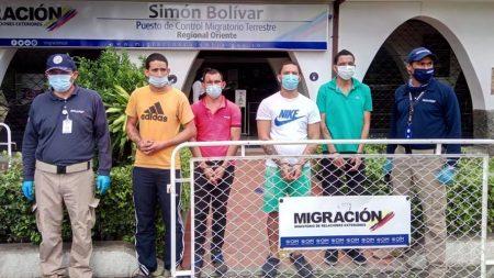 Colombia expulsa a cuatro venezolanos que se fugaron de una cárcel en su país