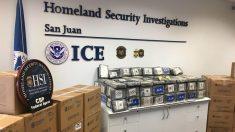 Incautan cocaína valorada en más de 7 millones de dólares en Puerto Rico