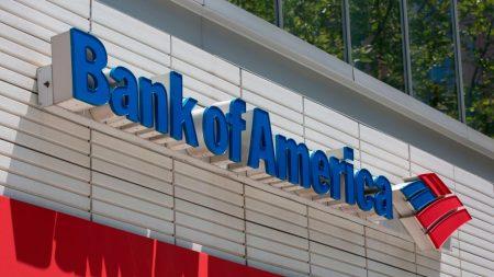 Bank of America gana USD 11,265 millones hasta septiembre, un 41 % menos
