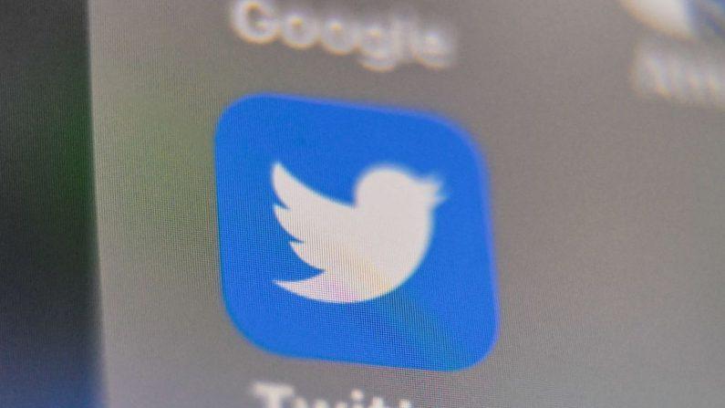 Foto tomada el 4 de septiembre de 2019 con el logotipo del sitio web de la red social estadounidense Twitter. (Denis Charlet / AFP a través de Getty Images)