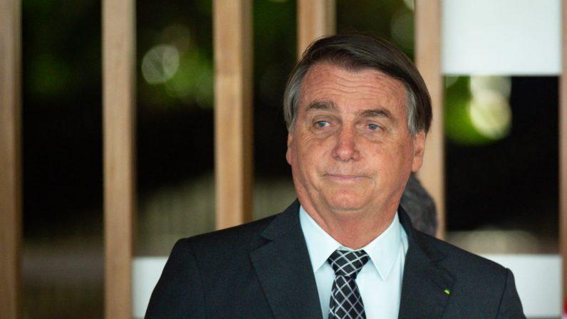 Jair Bolsonaro, presidente de Brasil, durante una reunión con el Consejero de Seguridad Nacional de EE.UU. Robert O'Brien en el Palacio de Itamaraty el 20 de octubre de 2020 en Brasilia, Brasil.(Foto de Andressa Anholete/Getty Images)