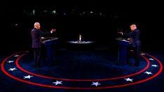 Trump y Biden presentan perspectivas en competencia durante un debate más tranquilo