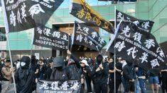Miles de personas marchan en Taiwán para exigir que Beijing libere a 12 hongkoneses detenidos