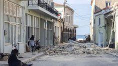 Un muerto y 5 heridos en la isla griega de Samos tras fuerte terremoto en mar Egeo