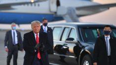 Trump critica a los funcionarios de Minnesota por restringir tamaño de su mitin