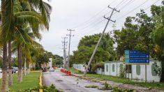 Zeta está cerca de ser de huracán en camino a la costa caribeña de México