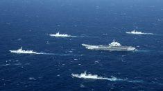 China está aumentando la flota marítima más grande del mundo: Secretario de Defensa del Reino Unido