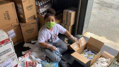 Niño de 7 años dirige una despensa comunitaria para ayudar a personas necesitadas durante la pandemia