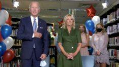 """Jill Biden: Los votantes no quieren escuchar sobre las """"difamaciones"""" a Hunter Biden"""