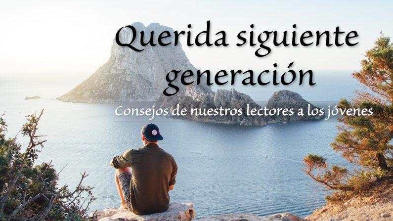 """Una columna dirigida a jóvenes lectores: """"Querida siguiente generación"""". (Foto de Pexels)"""