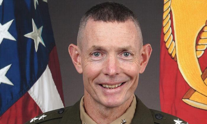 El mayor general, Stephen M. Neary, en una foto sin fecha. (Cuerpo de Marines de EE.UU.)