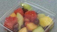 Walmart retira las frutas envasadas en 9 estados