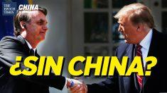 China al Descubierto: Brasil y EE. UU. necesitan reducir la dependencia de China: Pompeo