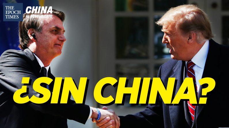 Brasil y EE. UU. necesitan reducir la dependencia de China: Pompeo. (China al Descubierto/The Epoch Times en Español)