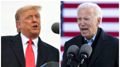 Trump viaja el sábado a Pensilvania y Biden a Michigan en la recta final de la campaña