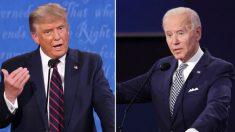 """Trump dice que recuperación económica es en forma de """"V"""", Biden dice que es en """"K"""""""