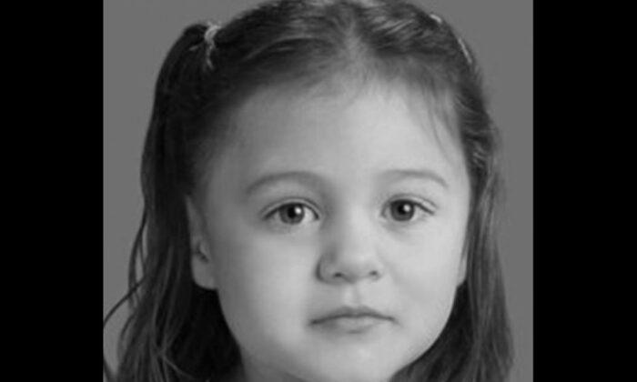 Emma Coles, la niña desaparecido en cuestión. (Centro Nacional para Niños Desaparecidos y Explotados)