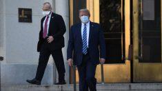 Trump abandona el hospital Walter Reed y regresa a la Casa Blanca
