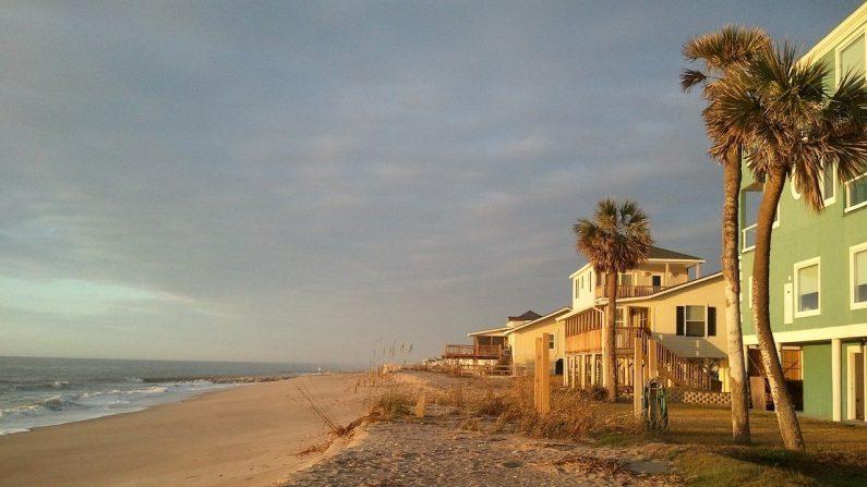 Playa de Edisto. Carolina del Sur. EE. UU. (Don_White/Pixabay)