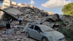 Fuertes terremotos de magnitud 6,6 y 6,8 sacuden Grecia y Turquía