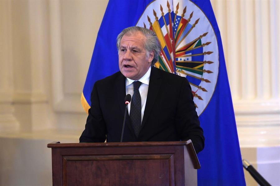El secretario general de la OEA, Luis Almagro, dio positivo al COVID-19