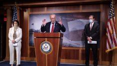 Schumer y Klobuchar impulsan un programa de pruebas del virus del PCCh en el Senado