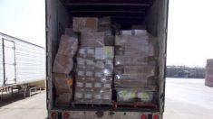 """Inspección a camión de """"suministros médicos"""" produjo la 2° mayor incautación de metanfetaminas"""