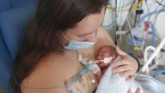 Bebé prematuro con 0% de probabilidad de sobrevivir vence obstáculos y se va a casa después de 5 meses