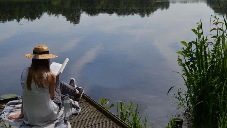 Leer para descansar de un mundo caótico