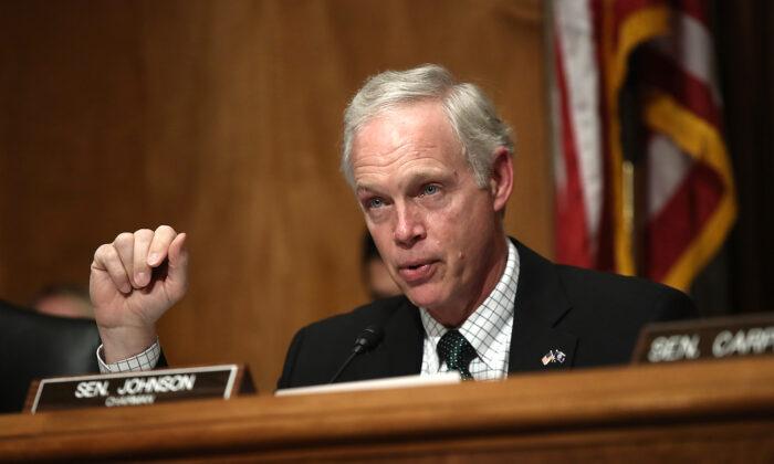 El senador Ron Johnson (R-Wis.) en Washington el 7 de junio de 2016. (Win McNamee/Archivo/Getty Images)