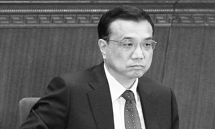 Premier chino Li Keqiang en Beijing, China, el 3 de marzo de 2012. (Feng Li/Getty Images)