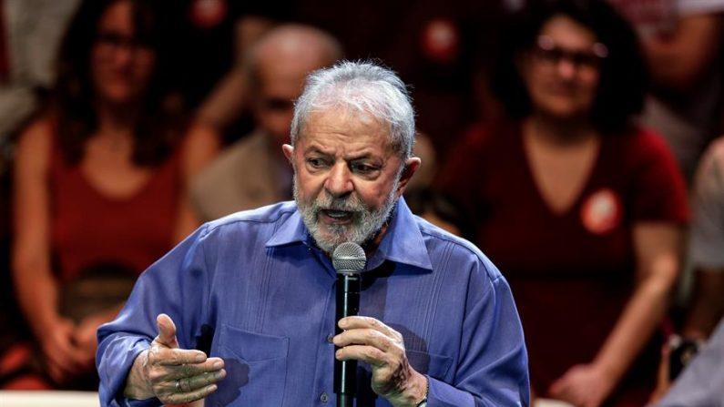 En la imagen, el expresidente de Brasil Luiz Inácio Lula da Silva. EFE/Antonio Lacerda/Archivo