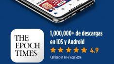 La app de The Epoch Times es N° 1 en descargas en la categoría de periódicos