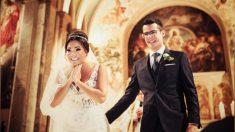 Novia recibe sorpresa de sus estudiantes con síndrome de Down portando los anillos en la boda: Video