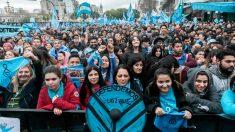 Los provida se movilizan en Argentina contra nuevo proyecto de ley para legalizar el aborto