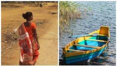 Mujer rema 18 km para ayudar a bebés desnutridos y mamás embarazadas durante la pandemia