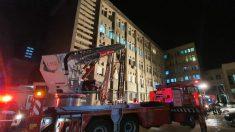 Incendio en hospital rumano deja 10 muertos