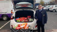 Niño de11 años decide romper su alcancía para que 39 familias puedan celebrar Navidad este año
