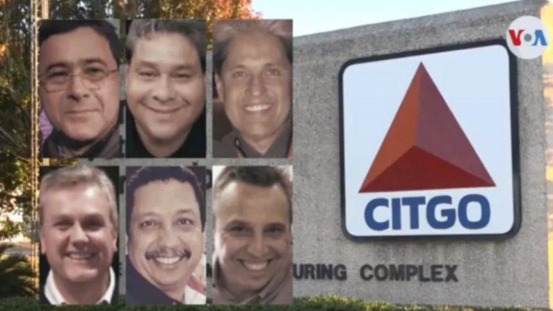 El chavismo declaró culpables de cargos de currupción y condenó a prisión a los seis exejecutivos de la refinería estadounidense Citgo el 26 de noviembre de 2020, después de varias audiencias postergadas desde su arresto en noviembre de 2017. Foto de VOA