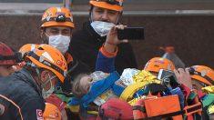 Rescatan con vida a niña de 3 años tras 65 horas bajo los escombros del terremoto en Turquía
