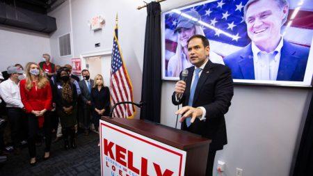 Rubio hace campaña por los candidatos republicanos en la segunda vuelta del Senado de Georgia