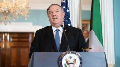 """Irán está """"desesperado"""" por volver a la mesa de negociaciones: Pompeo"""