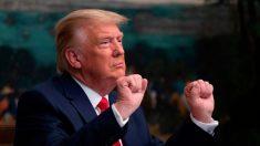 Trump agradece a las Fuerzas Armadas su sacrificio
