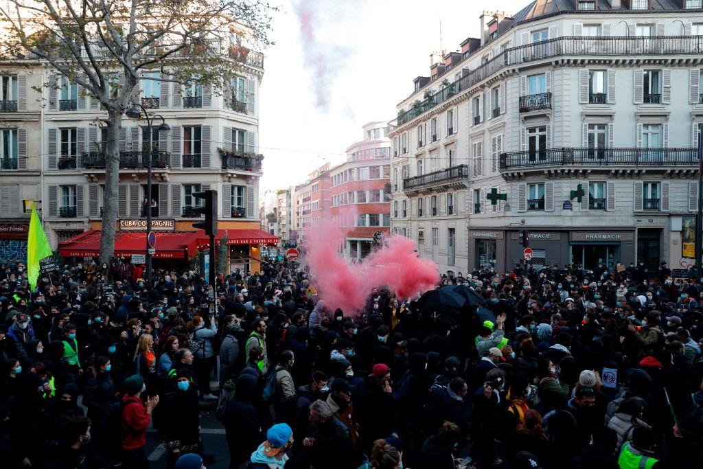Una nueva gran protesta clama en Francia contra la polémica ley de seguridad