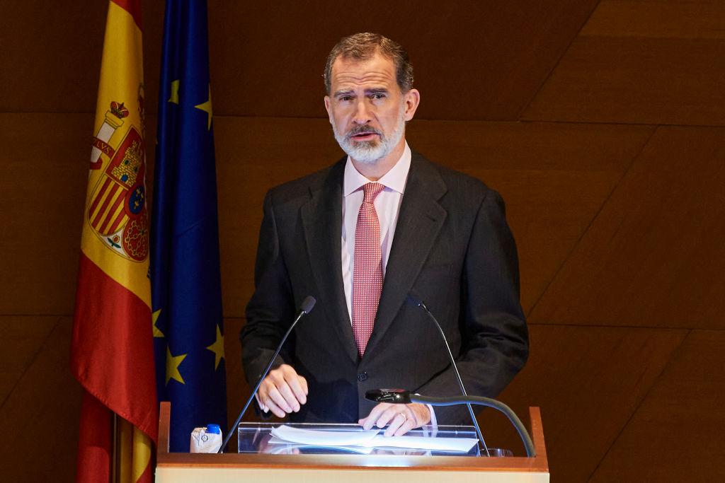 El rey de España da negativo por covid-19