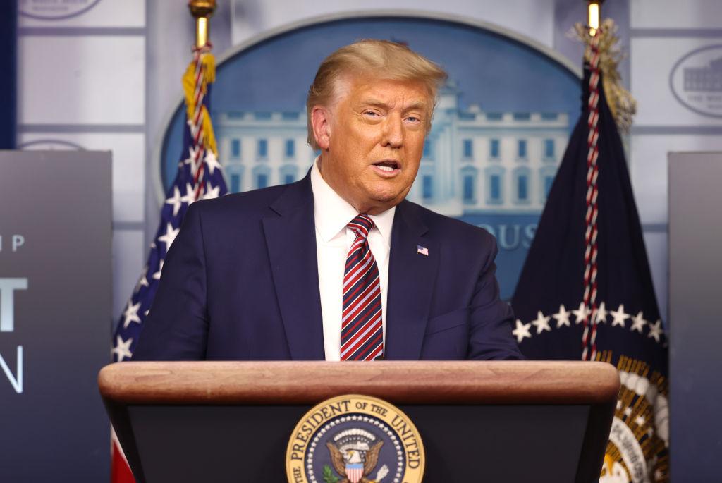 """Trump: """"El 2020 está muy lejos de terminar"""""""