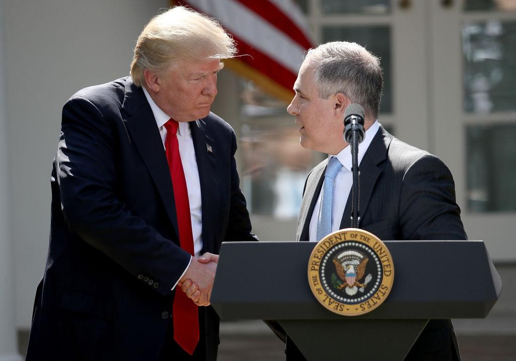 """Pacto climático al que quiere volver Biden podría """"aniquilar la economía estadounidense"""", dice Trump"""
