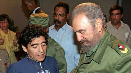 Macron señala visitas de Maradona a dictadores y régimen chavista reacciona