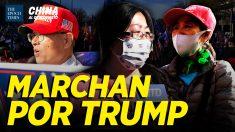 China al Descubierto: Chinos marchan en apoyo a Trump; Vínculos de BLM con el PCCh