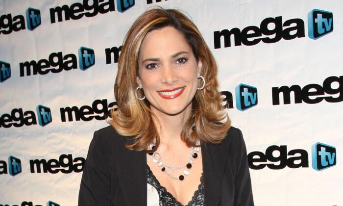 María Elvira Salazar asiste al SBS-Mega TV Up Front en Guastavino's en la ciudad de Nueva York el 24 de abril de 2008. (Jason Kempin/Getty Images)
